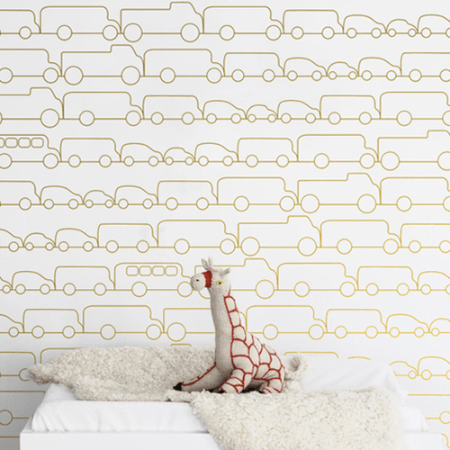 Jam Wallpaper - Project Nursery