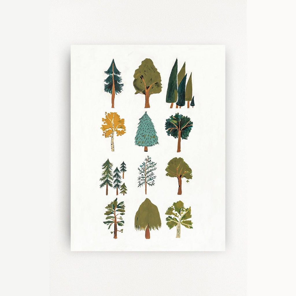 Forest Trees Art Print - Project Nursery