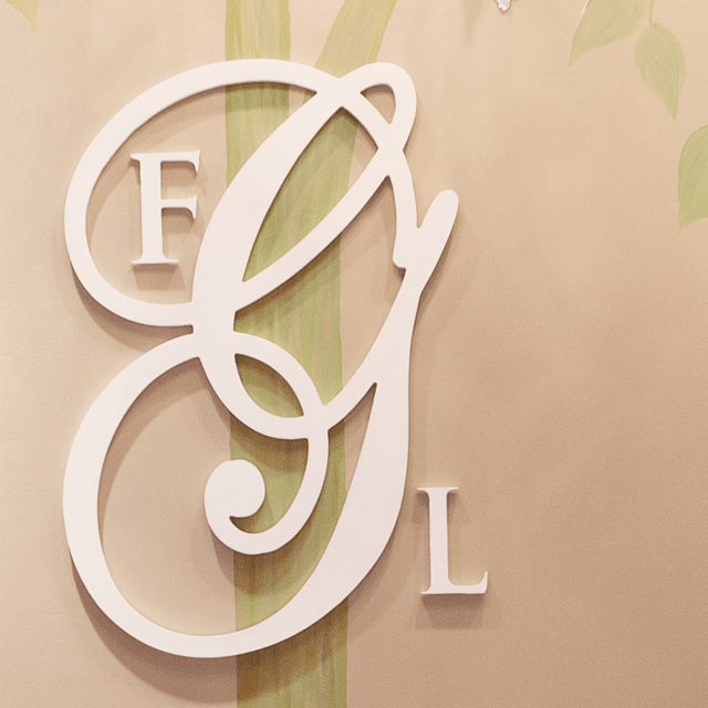 Wood Wall Monogram  - The Project Nursery Shop - 1