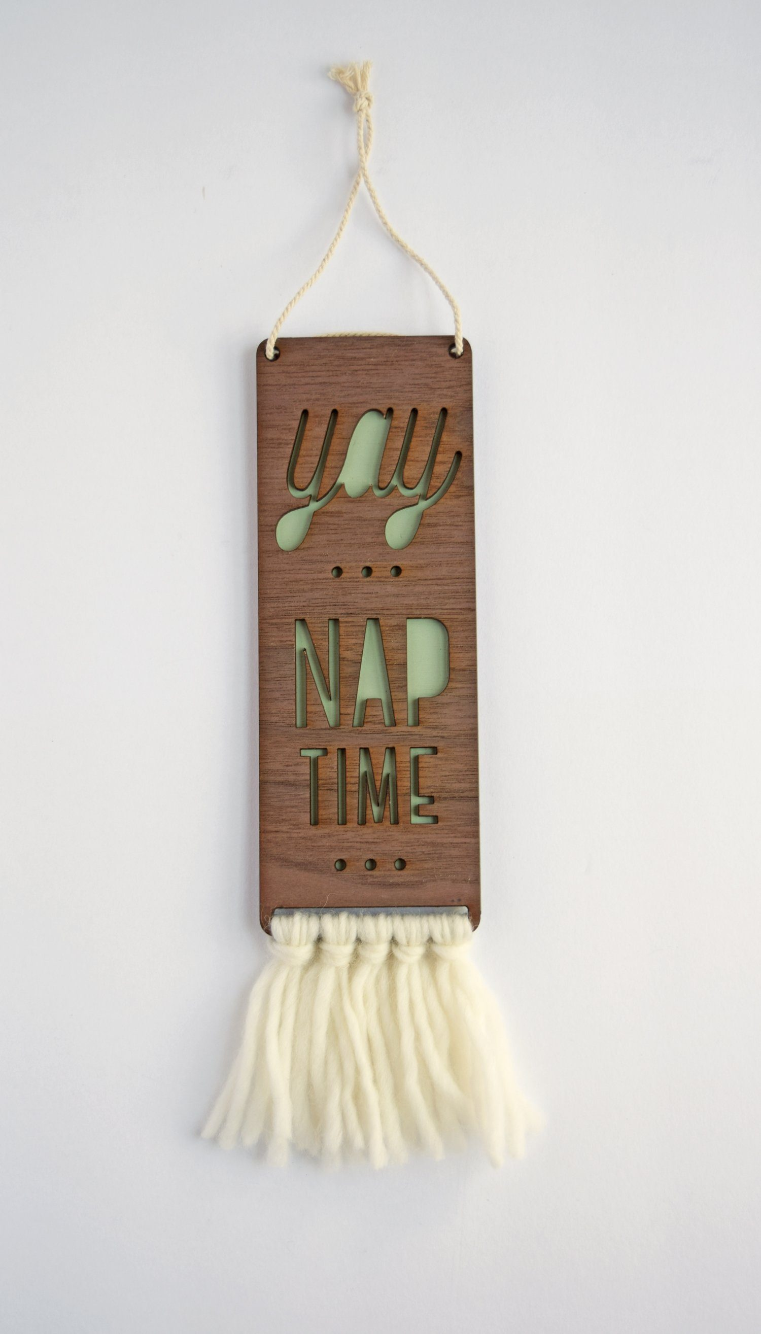 Nap Time Baby Door Sign - Project Nursery