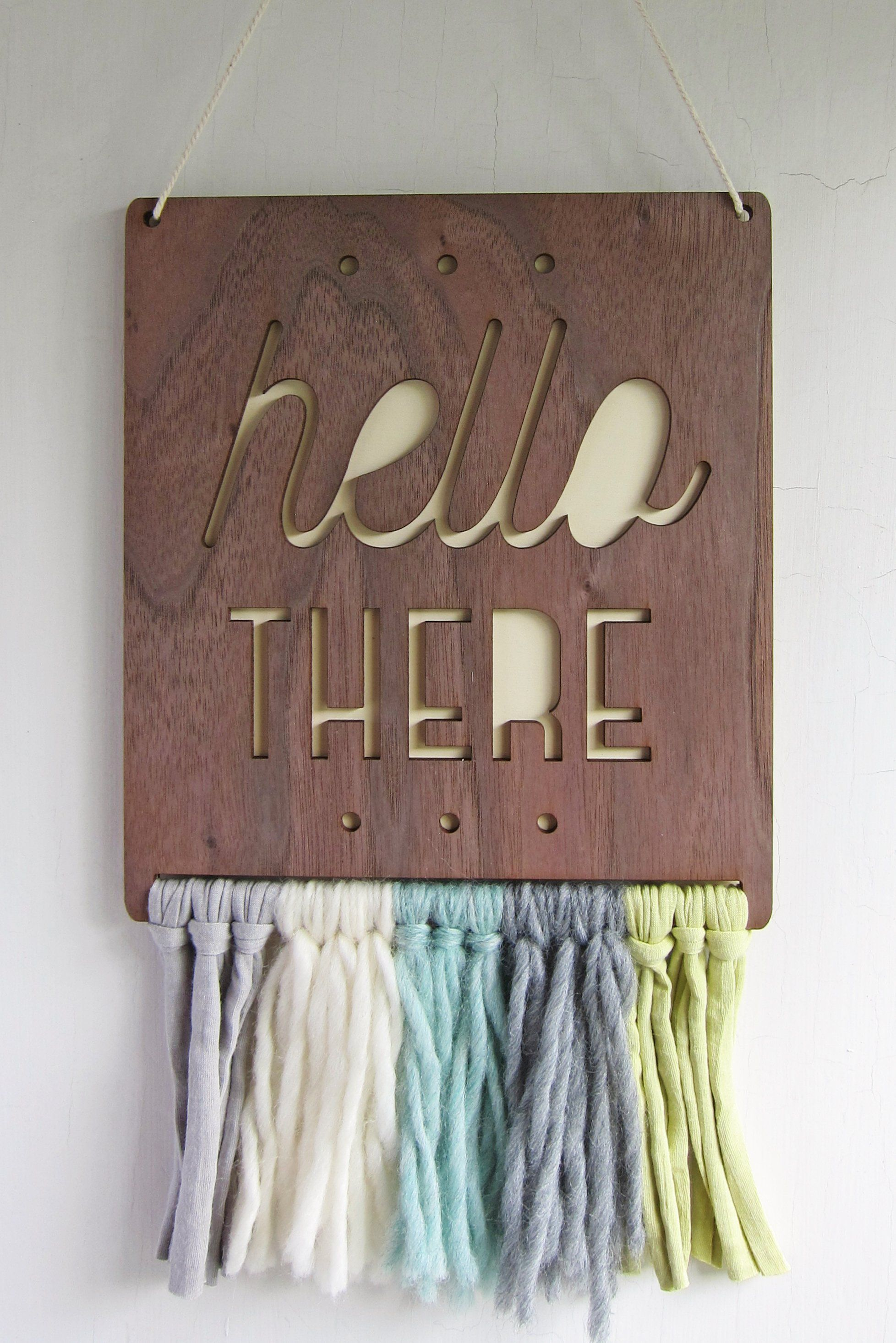 Hello There Wall Hanging - Project Nursery