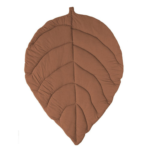 Leaf Play Pad - Chocolate - Project Nursery