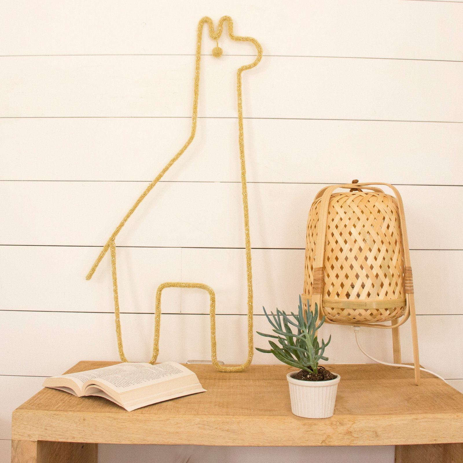 Giraffe Wall Hanging - Project Nursery