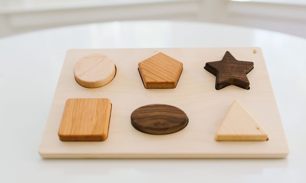 Chunky Shape Puzzle - Project Nursery