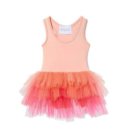 Ombre Tutu Leotard - Harper Coral - Project Nursery
