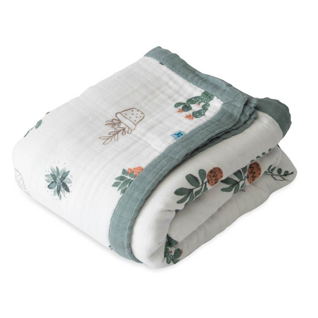 Big Kid Cotton Muslin Quilt - Prickle Pots - Project Nursery