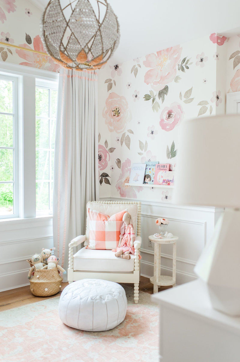 Jolie Wallpaper Mural - Project Nursery