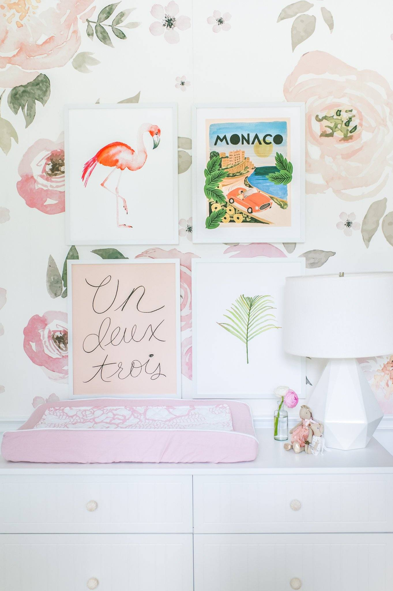 Jolie Wallpaper - Project Nursery