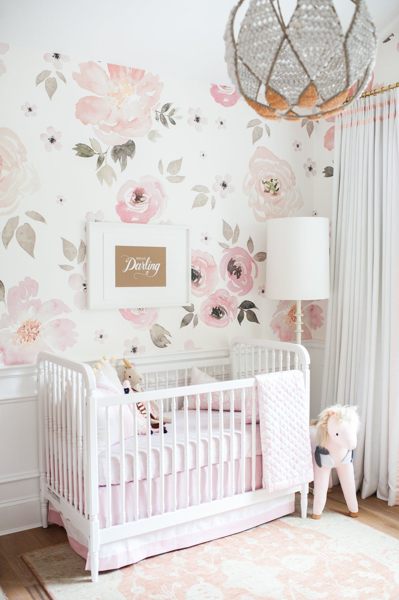 Jolie Wallpaper Mural – Project Nursery