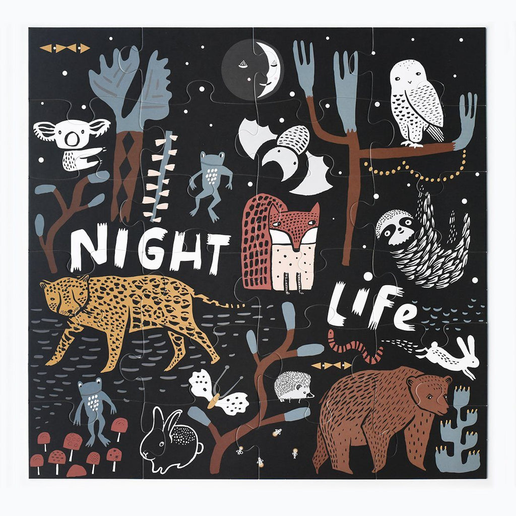 Night Life Floor Puzzle - Project Nursery