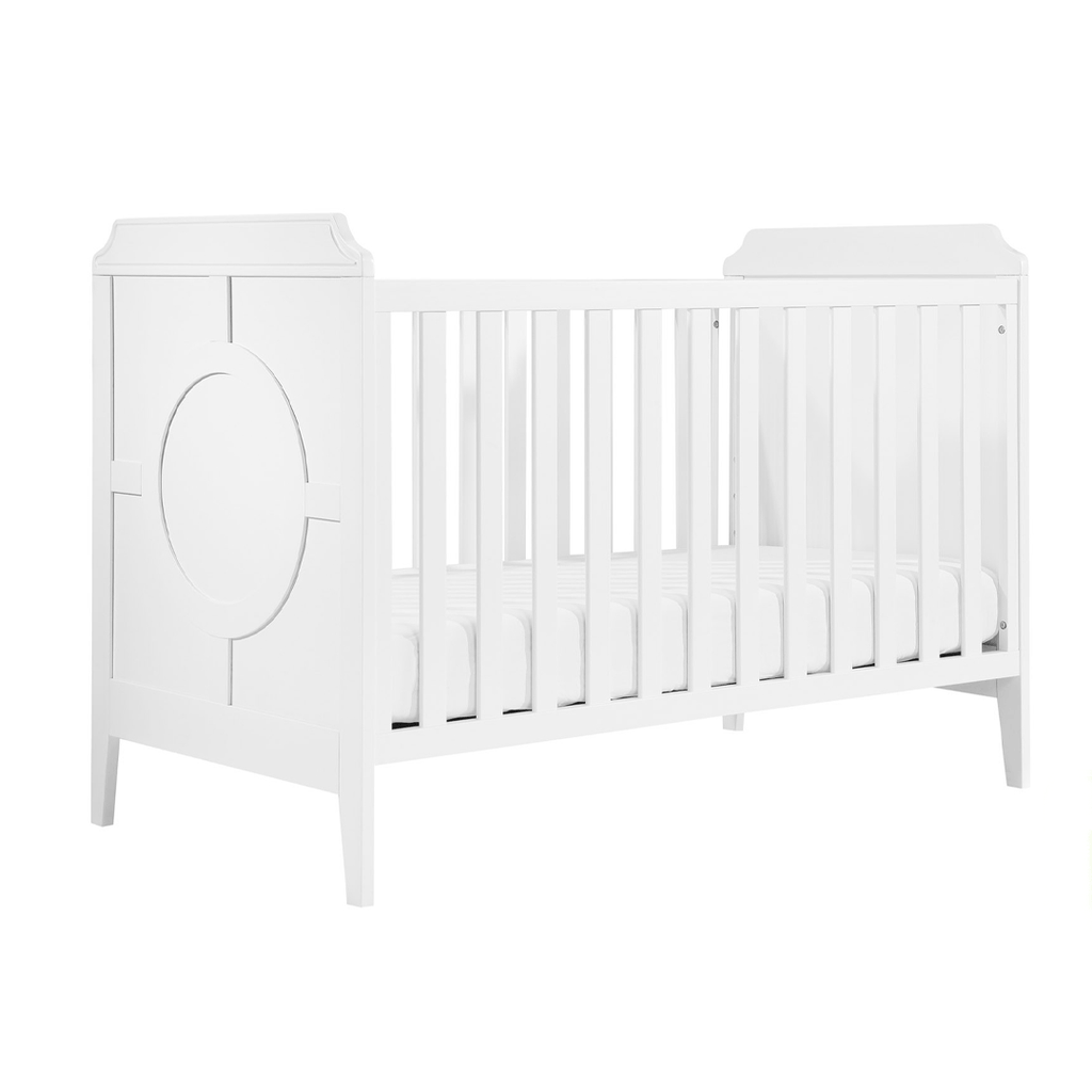 Poppy Regency 3-in-1 Convertible Crib White - The Project Nursery Shop - 2