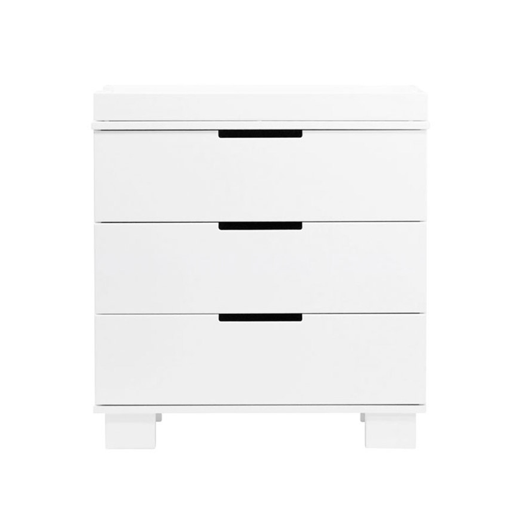 Modo 3-Drawer Changer Dresser White - The Project Nursery Shop - 3