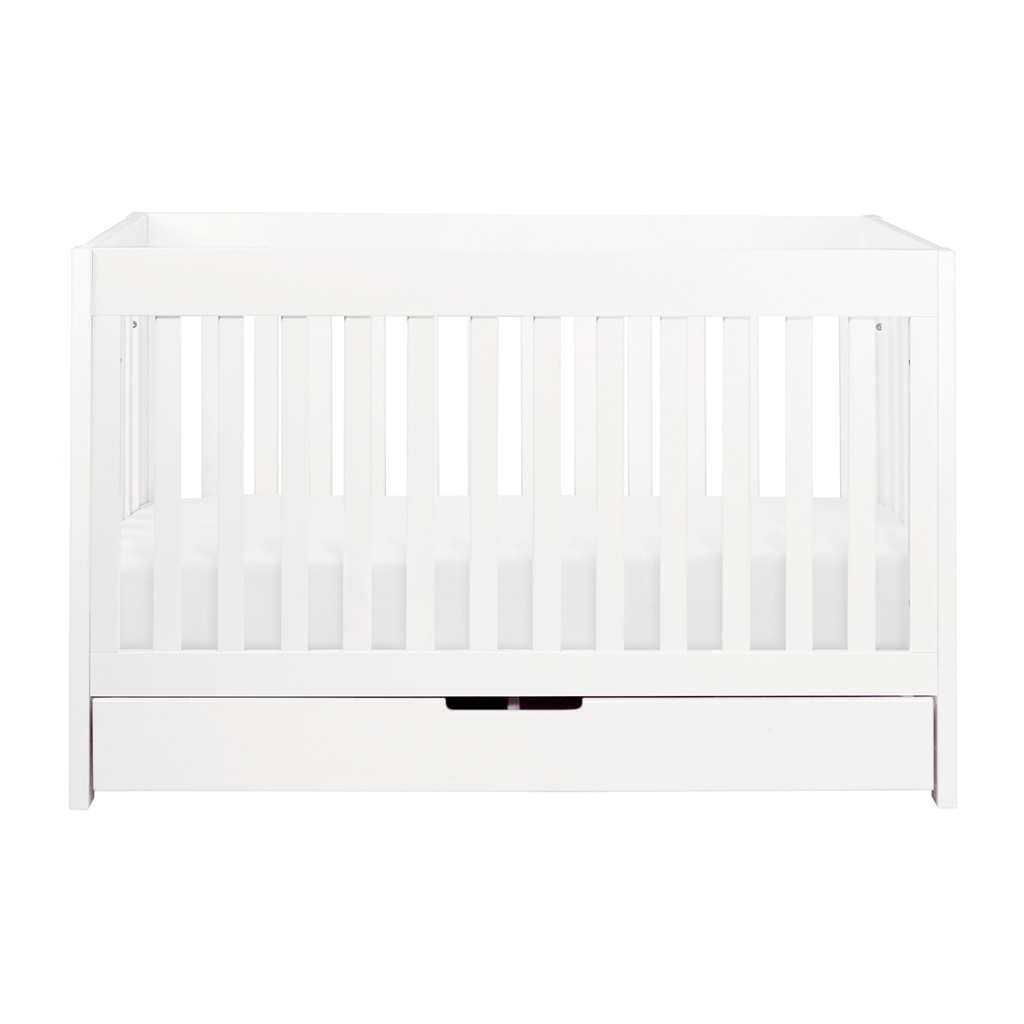 Mercer 3-in-1 Convertible Crib with Toddler Bed Conversion Kit White - The Project Nursery Shop - 4
