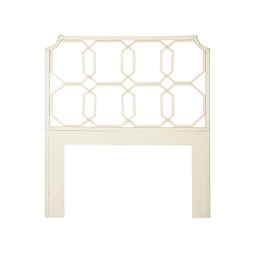 Palm Beach Twin Headboard - White - Project Nursery