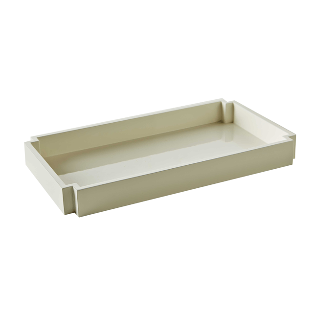 Garbo Tray in White  - The Project Nursery Shop