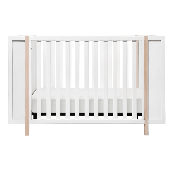 Bingo 3-in-1 Convertible Crib White - The Project Nursery Shop - 1