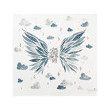 Wings Organic Swaddle Scarf  - The Project Nursery Shop - 1