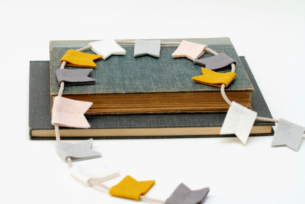 Modern Felt Bunting  - The Project Nursery Shop - 9