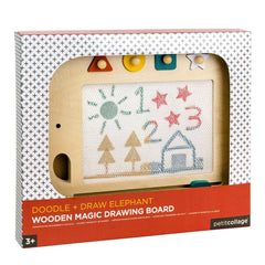 Doodle + Draw Elephant Wood Magic Drawing Board - Project Nursery