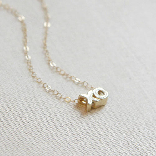 XO Necklace - Project Nursery