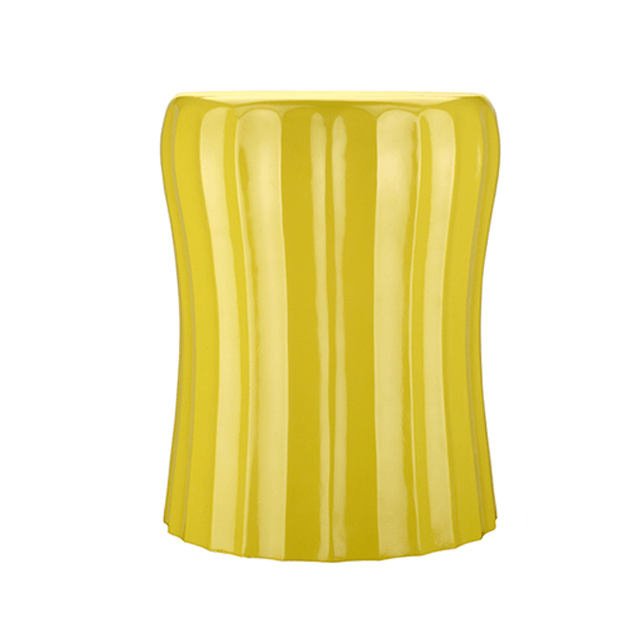 Wave Accent Table in Yellow  - The Project Nursery Shop - 1