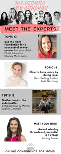 TOP 20 MOM WORKSHOPS