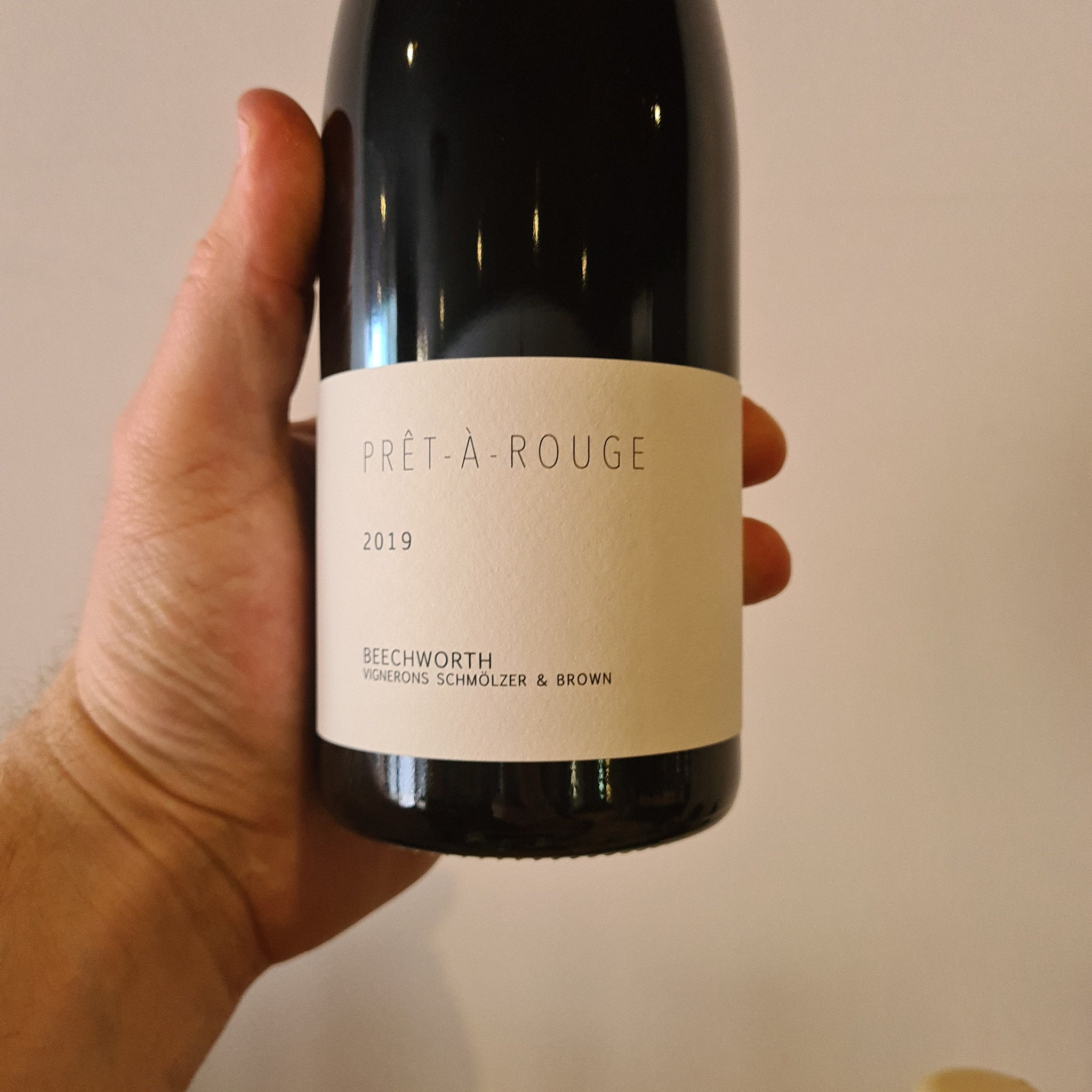 2019 Vignerons Schmolzer And Brown Pret A Rouge