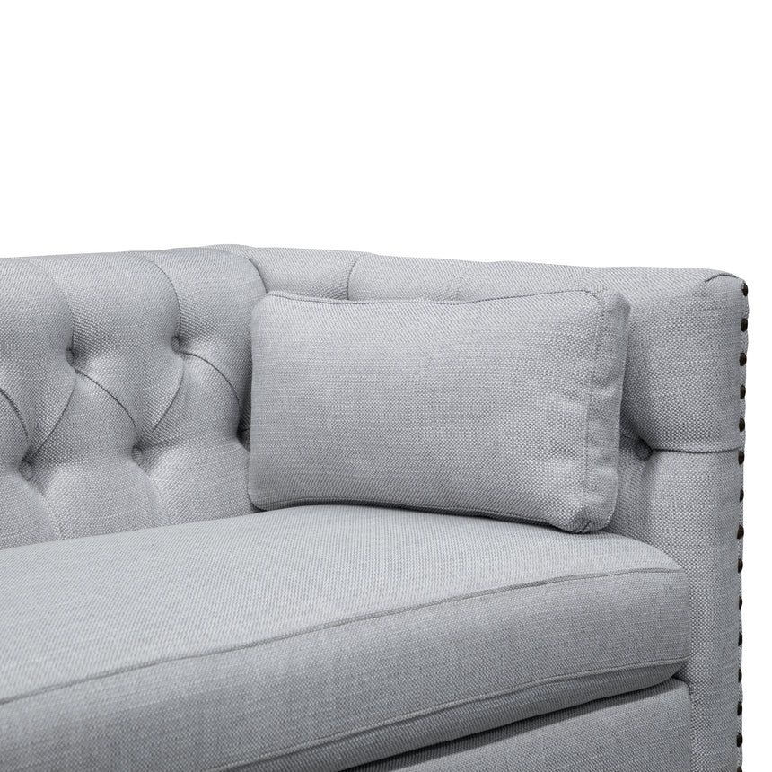 CLC2882-CA 3 Seater Sofa - Light Grey Texture