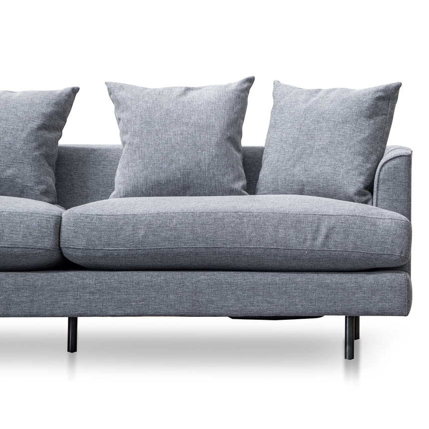 CLC2856-CA 3 Seater Sofa - Graphite Grey