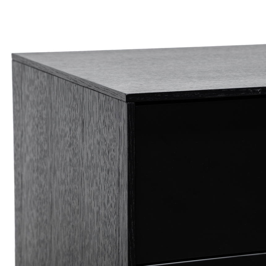 CDT2918-DW 160cm Sideboard with Drawers - Black Oak