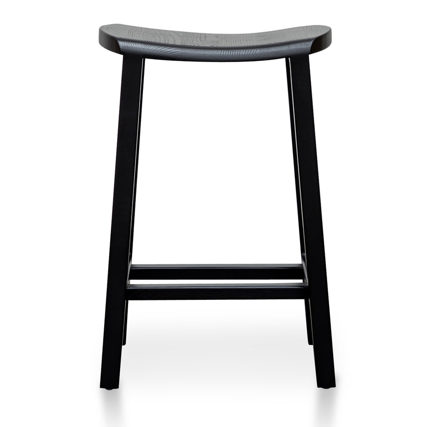 CBS2984-SU - 65cm Wooden Bar Stool - Black