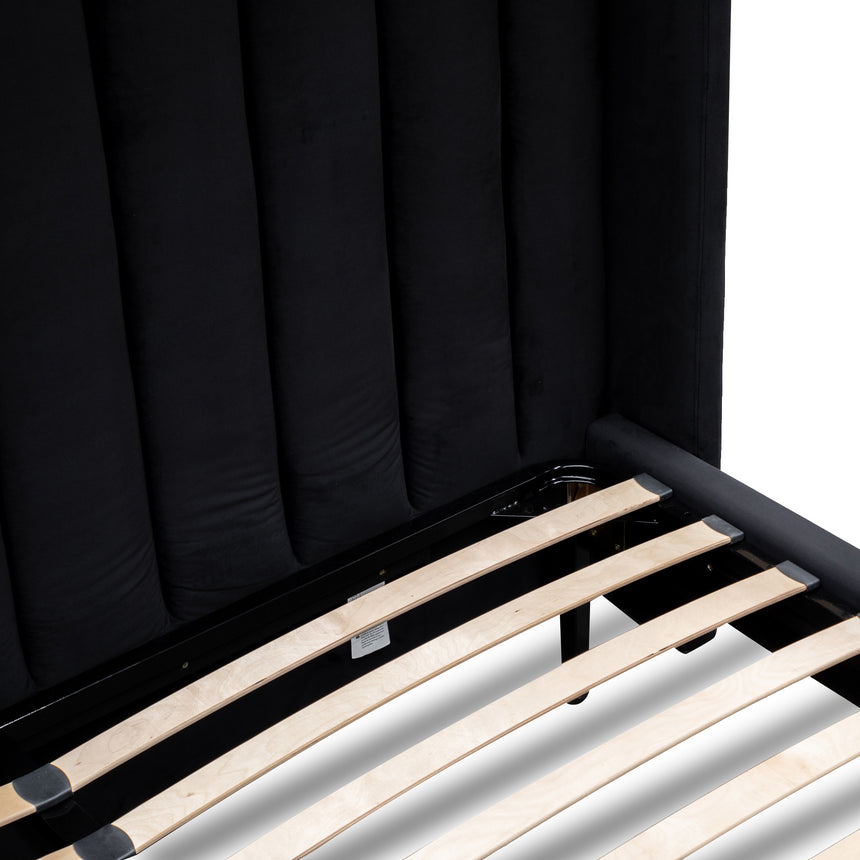 CBD2771-MI King Bed Frame - Black Velvet