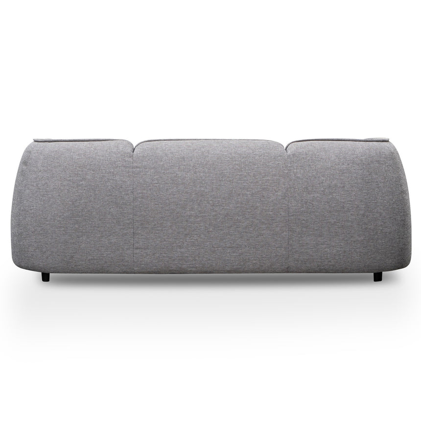 CLC2875-KSO 3 Seater Fabric Sofa- Oslo Grey