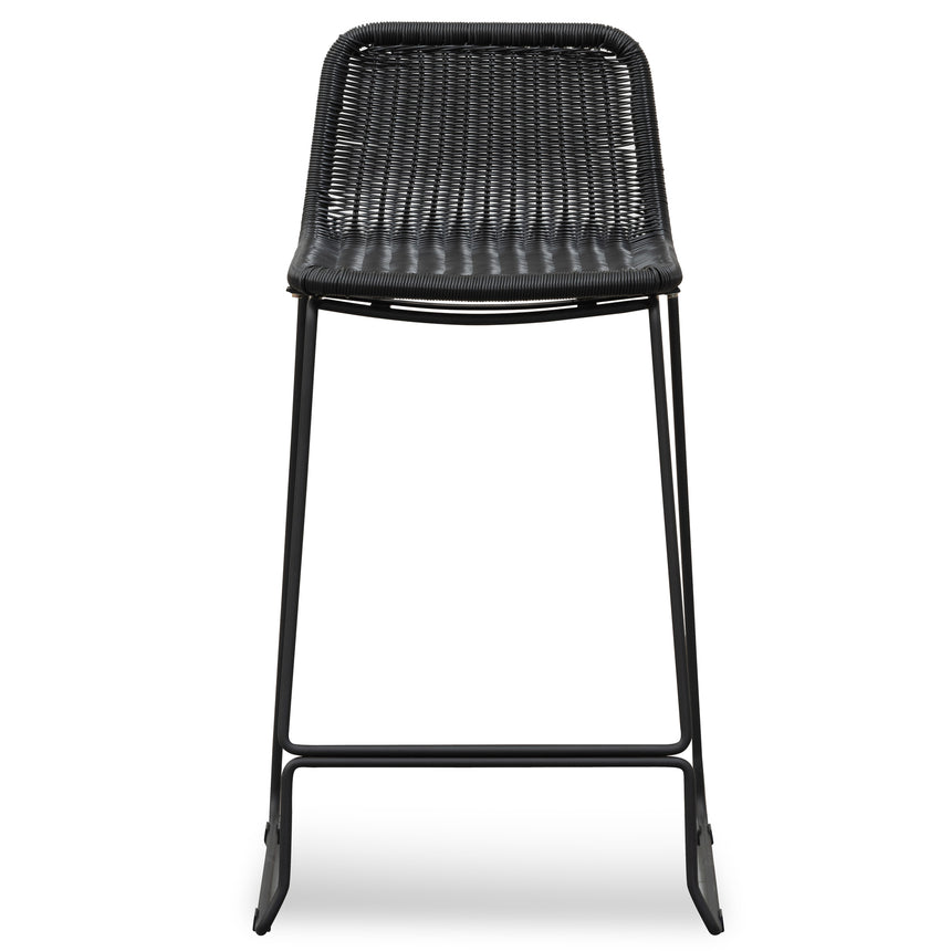 CBS2944-NH 68cm Rattan Seat Bar Stool - Black