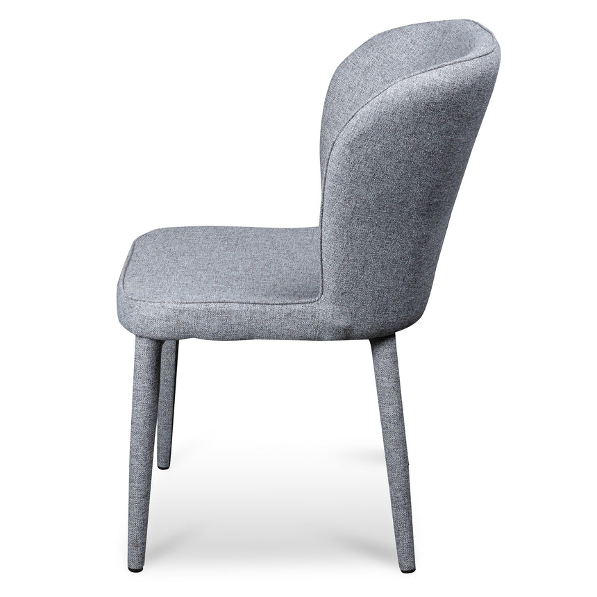 CDC6119-ST Dining Chair - Pebble Grey Fabric