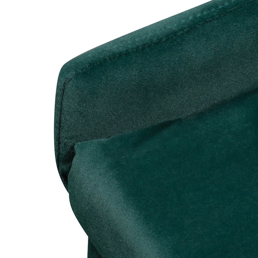 CDC6125-ST Dining Chair - Dark Green Velvet