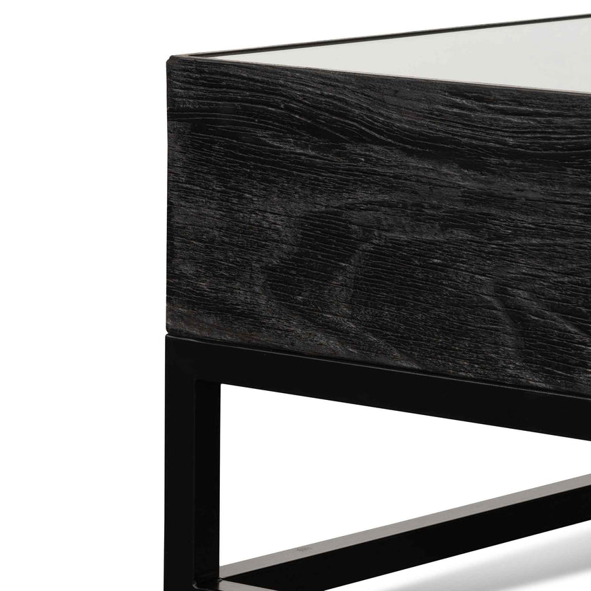 CDT6308-NI 1m Reclaimed Coffee Table - Black