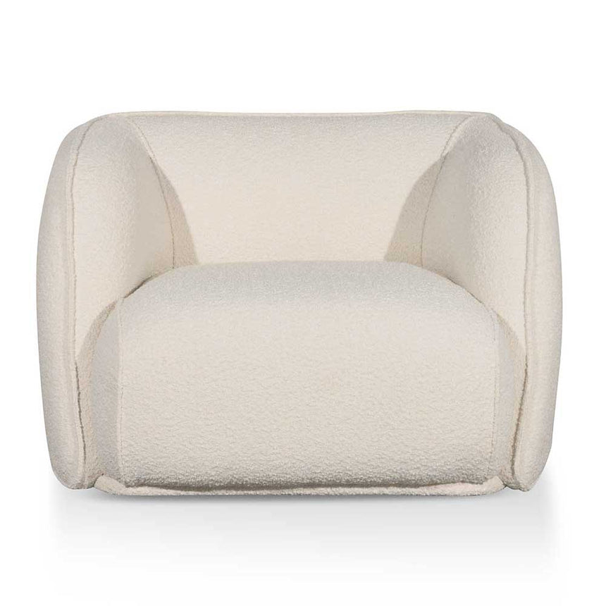 CLC6189 Fabric Armchair - Ivory