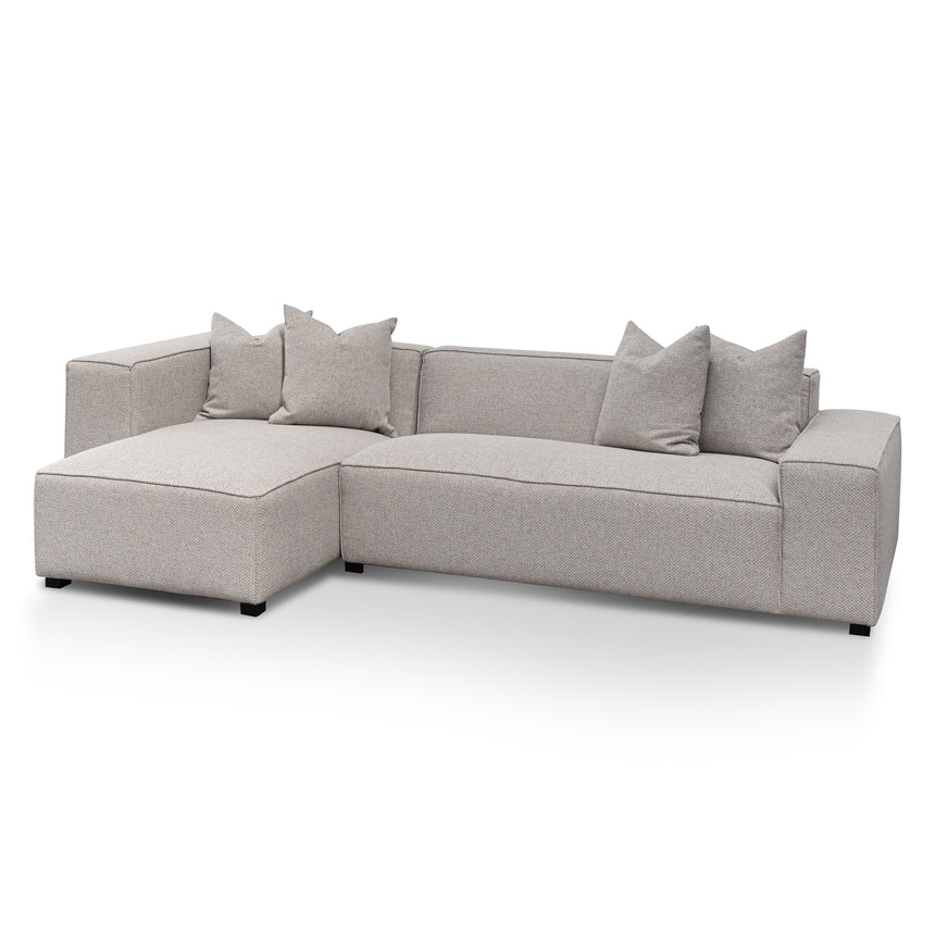 CLC6532-CA  3 Seater Left Chaise Sofa - Sterling Sand