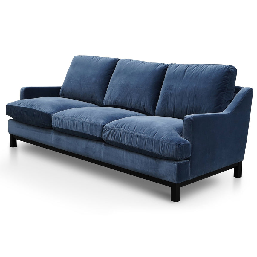 CLC2731-KSO 3 Seater Sofa - Midnight Navy Velvet