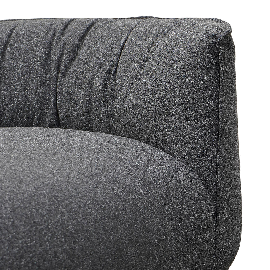 CLC2705-YY Armchair With Chaise - Dark Grey