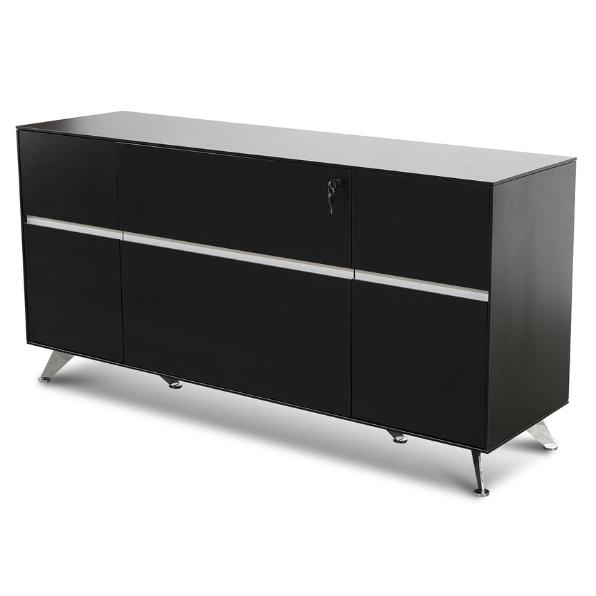 CDT2903-VA Storage Cabinet - Textured Ebony Black
