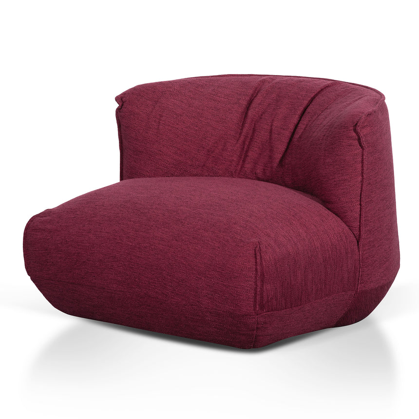 CLC6231-YY Fabric Lounge Chair - Garnet Red