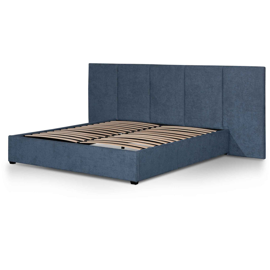 CBD6291-MI King Bed Frame - Black Indigo