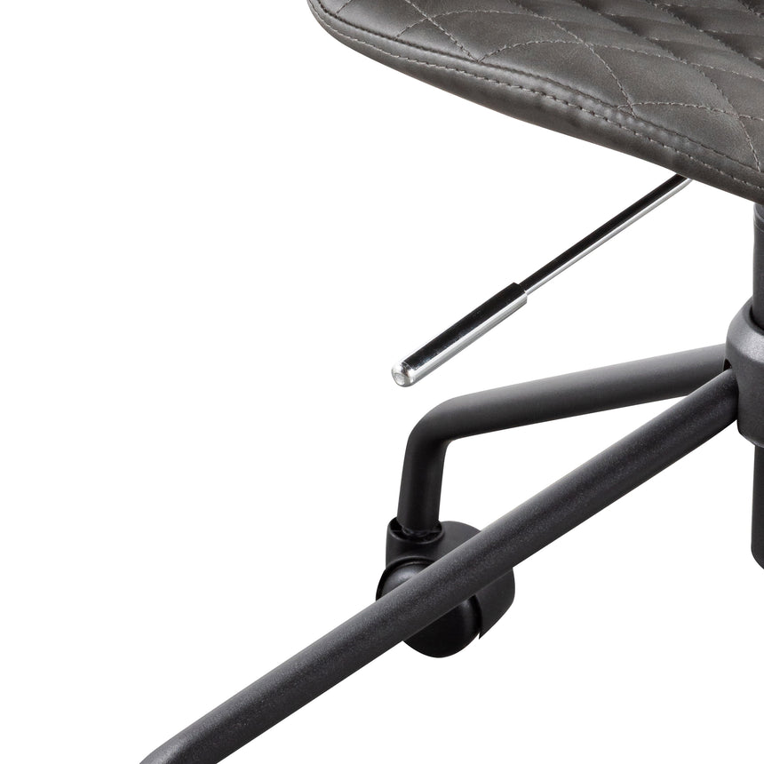 COC6192-LF Office Chair - Charcoal with Black Base