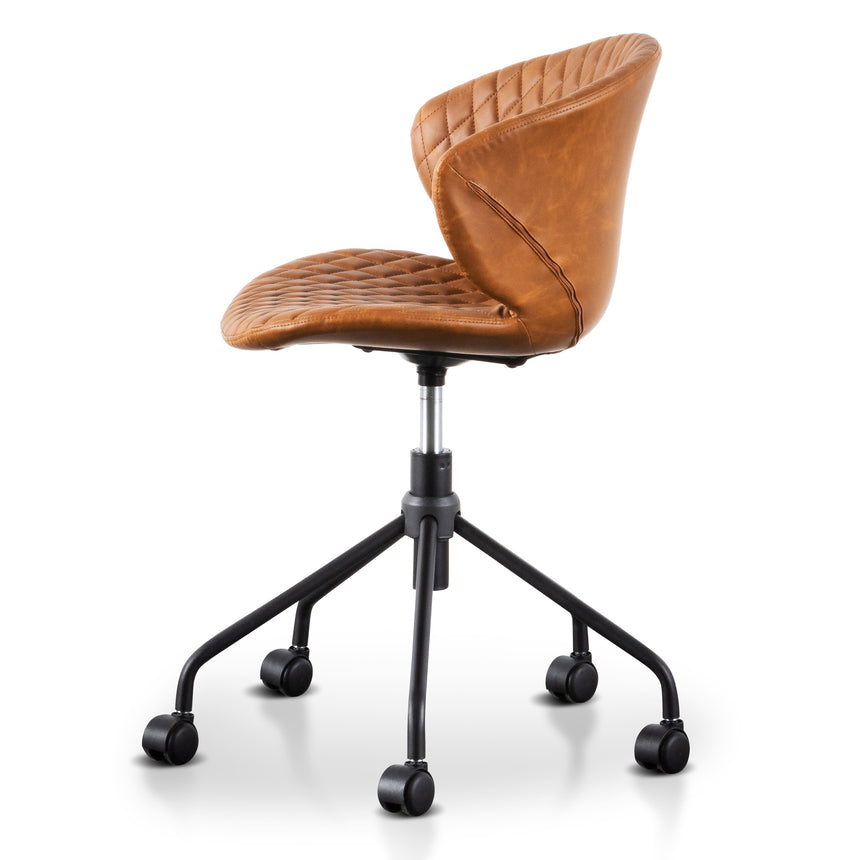 COC6193-LF Office Chair - Tan with Black Base