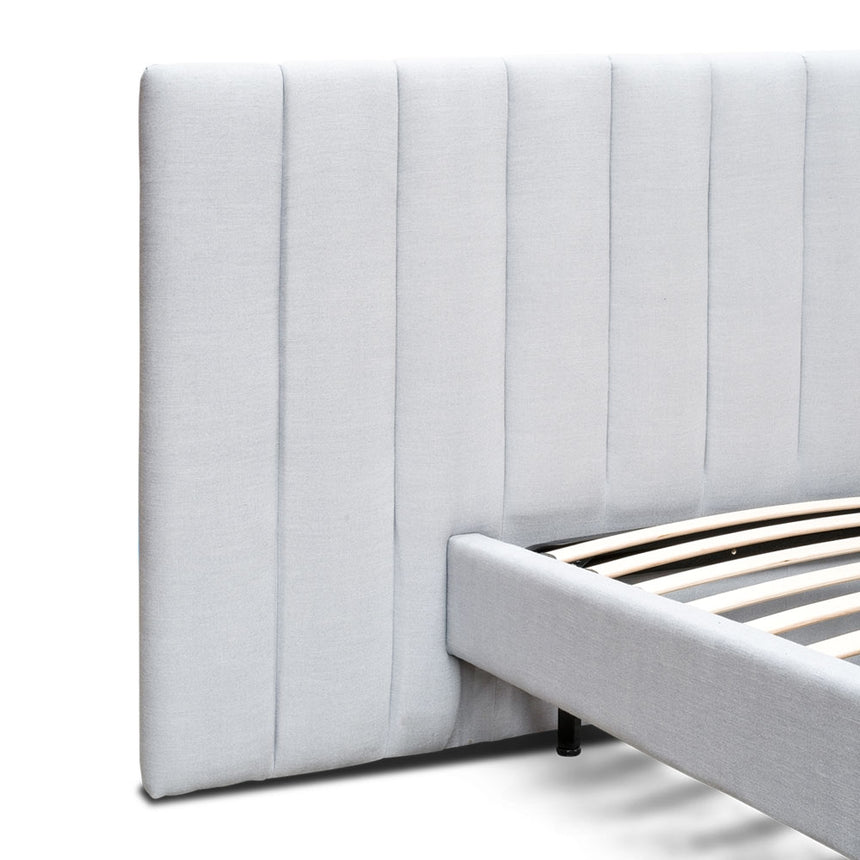 CBD2280-MI Queen Bed Frame - Cement Grey