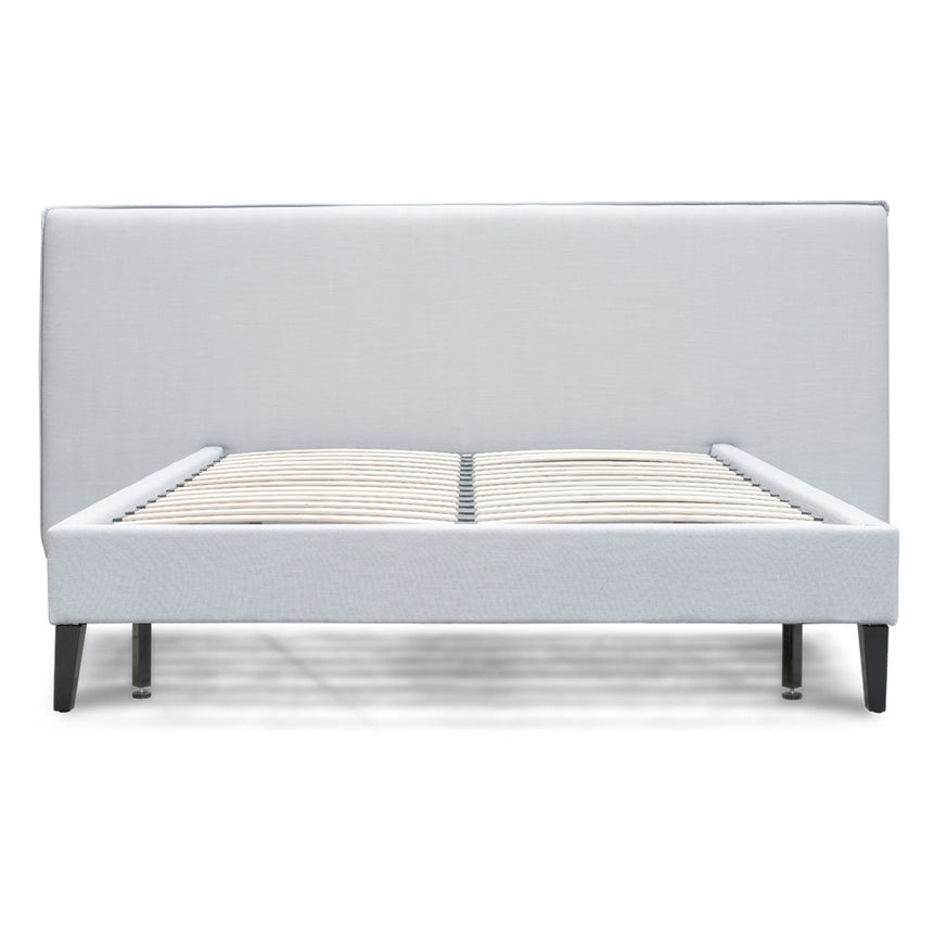CBD2281-MI Wide King Bed Frame - Cement Grey