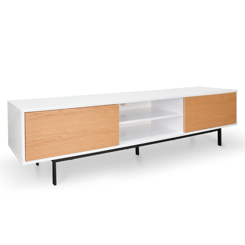 CTV381 2m TV Entertainment Unit - Lowline - Natural