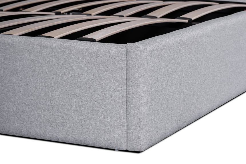 CBD6014-YO Fabric Queen Bed - Rhino Grey
